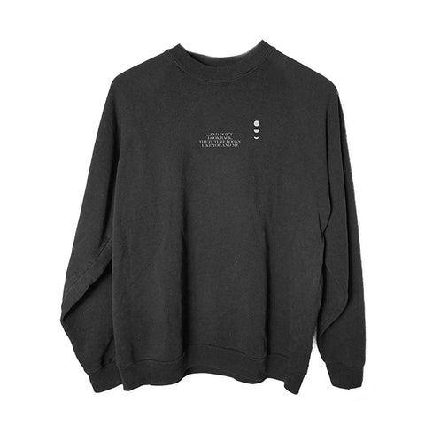 NIKI Drive on Crewneck Sweater
