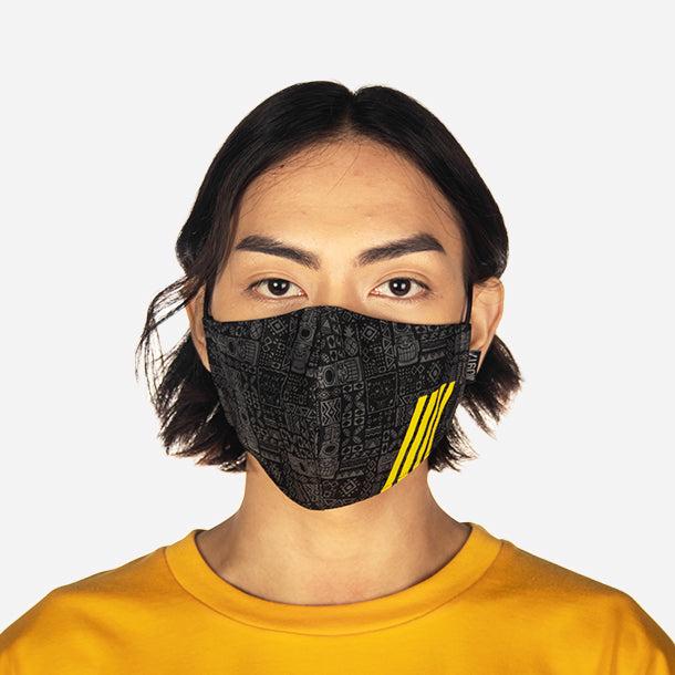 0917 Spongebob Seabed Face Mask