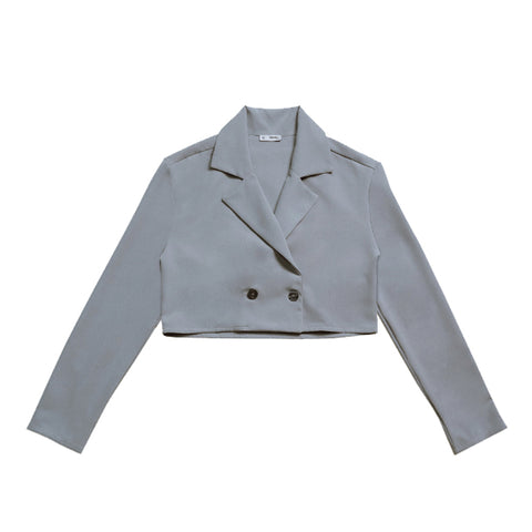 Wonder On-Duty Woven Cropped Coat