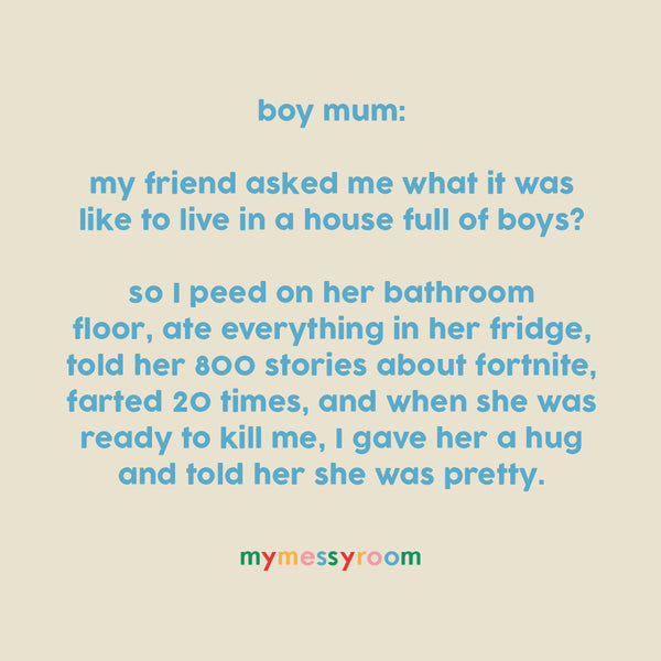 mums of boys