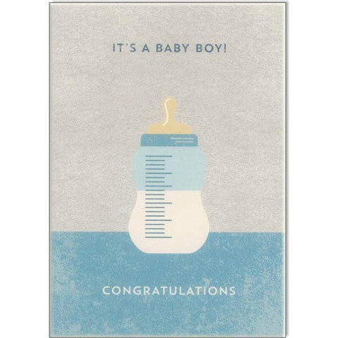 Its A Baby Boy Card - My Messy Room
