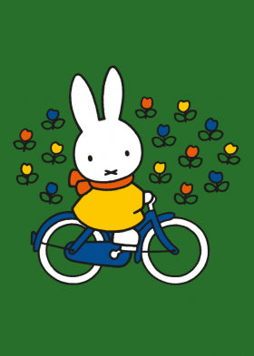 Bekking & Blitz Miffy Bike Card QDB102