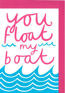 V21 Alison Hardcastle You Float My Boat Card - My Messy Room
