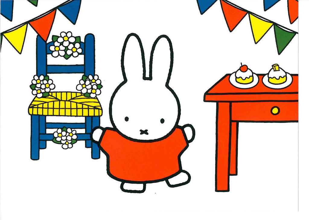 QDB110 Miffy Party Card - My Messy Room