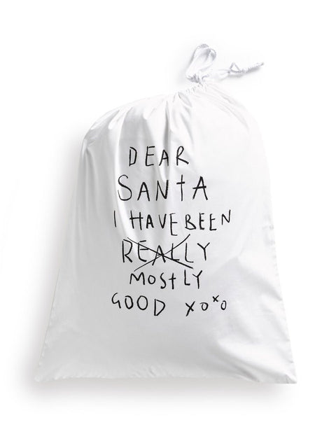 Henry and Co Santa Sacks - Cotton Drawstring Bags - My Messy Room