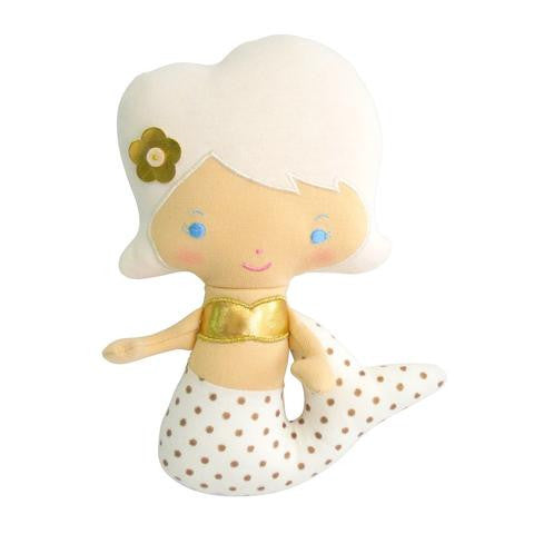 Alimrose Designs Mermaid Rattle - Gold - My Messy Room