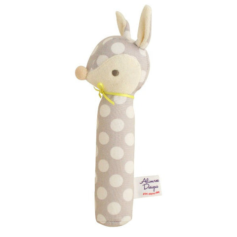 Alimrose Designs Deer Squeaker - Fog Dot - My Messy Room
