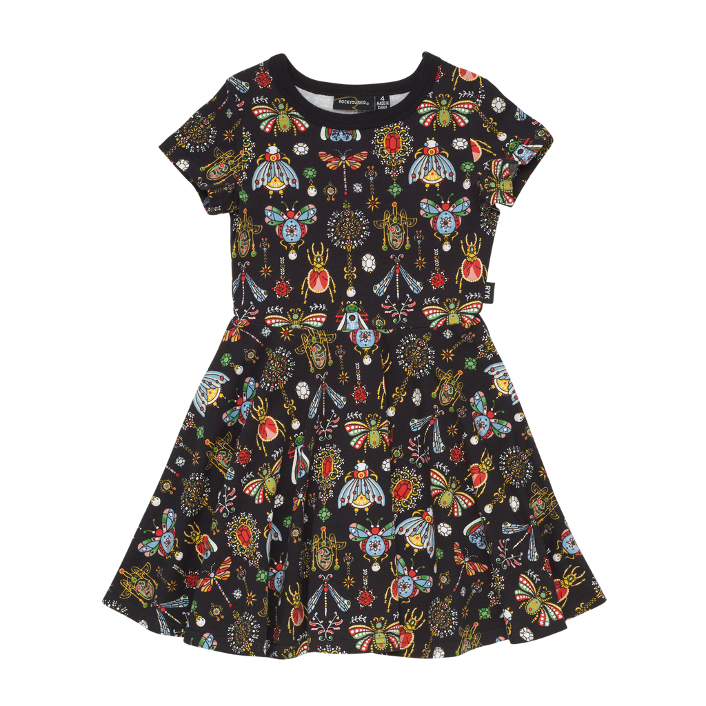 S18 Rock Your Kid The Collection SS Waisted Dress