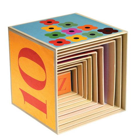 Colourful Creatures Stacking Box - 10 Set