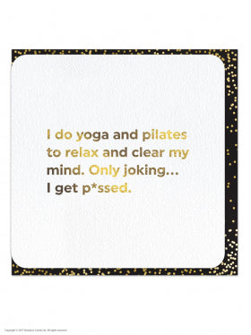 QU005 Yoga and Pilates Card