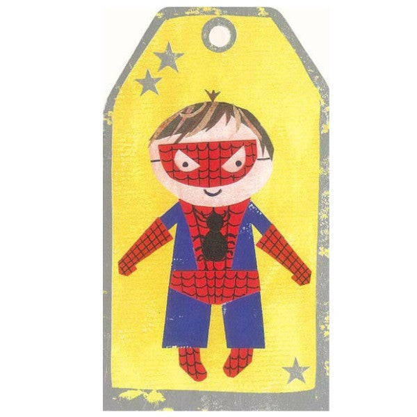 Spiderman Tag Card - My Messy Room