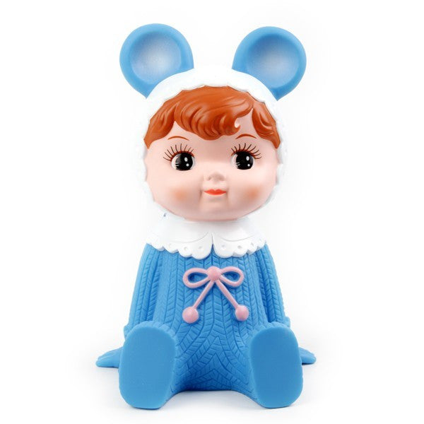 Lapin & Me Money Box - Blue - My Messy Room - 1