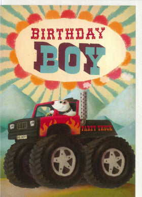 Oklahoma Birthday Boy Card PAN 102 - My Messy Room