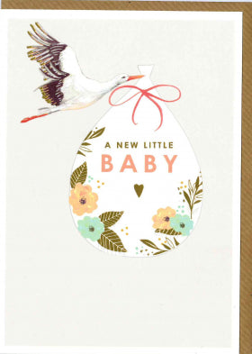 Louise Tiler A New Little Baby Card CB001 - My Messy Room