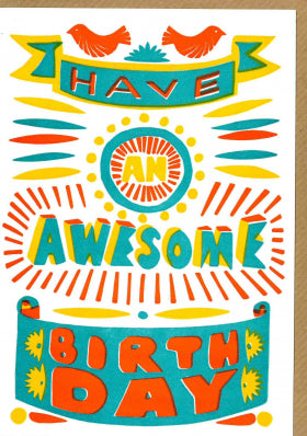 N-73 Sukie Awesome Birthday Card 2096