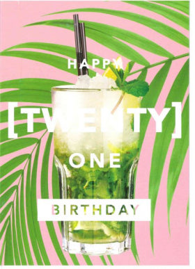 Revista Twenty One Card
