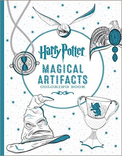 Harry Potter : Magical Artifacts Colouring Book - My Messy Room