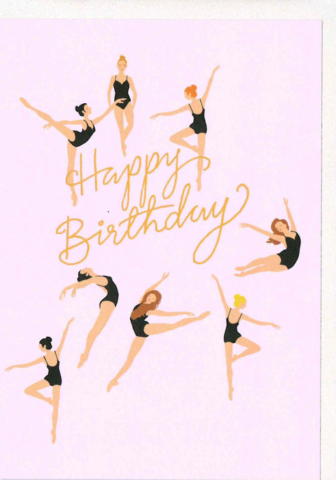 Noi AT400 Happy Birthday Ballet Card