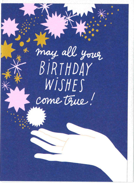 Noi BE010 Birthday Stars Card