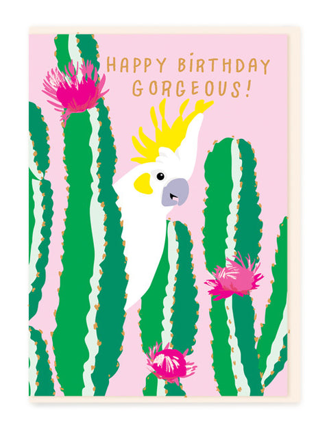 Noi BE009 Birthday Gorgeous Card