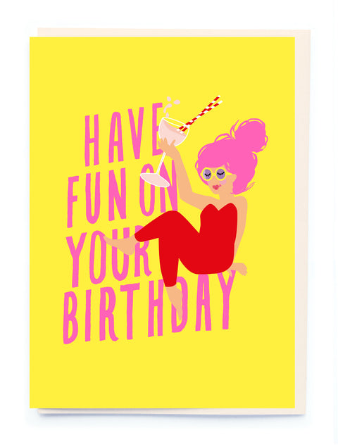 Noi BL004 Fun Birthday Card