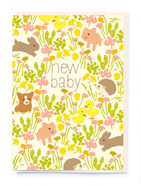 Noi BN012 New Baby Card