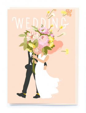 BN017 Noi Wedding Card
