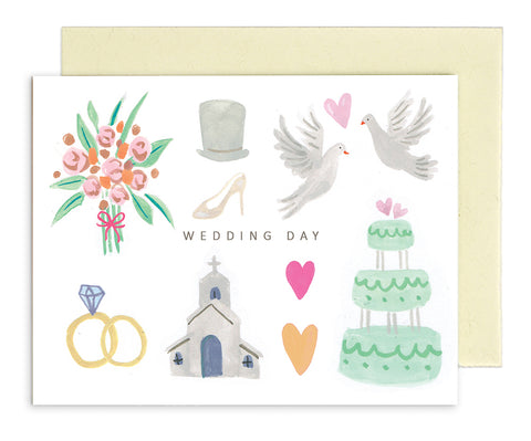 MED009 Rhys McArdle Wedding Day Card