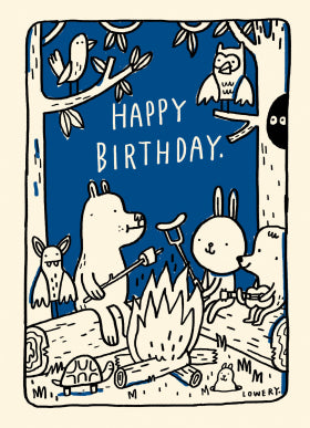 Petit Sauvage GCN197 Birthday Card