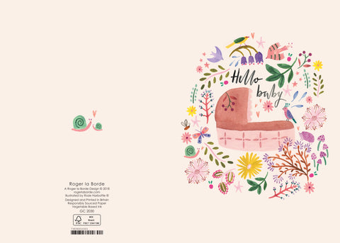 GC2030 Roger La Borde Hello Baby Card