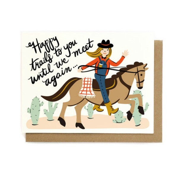 Happy Trails Card - My Messy Room - 1