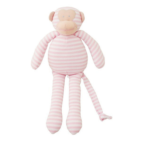 Alimrose Designs Musical Monkey - Pink Stripe - My Messy Room