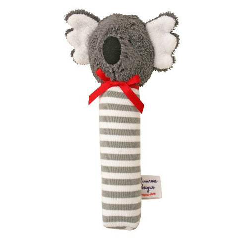 Alimrose Designs Koala Hand Squeaker - Grey Stripe - My Messy Room