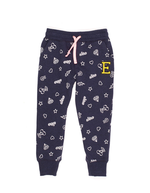 Eve's Sister Skater Trackpant - Navy
