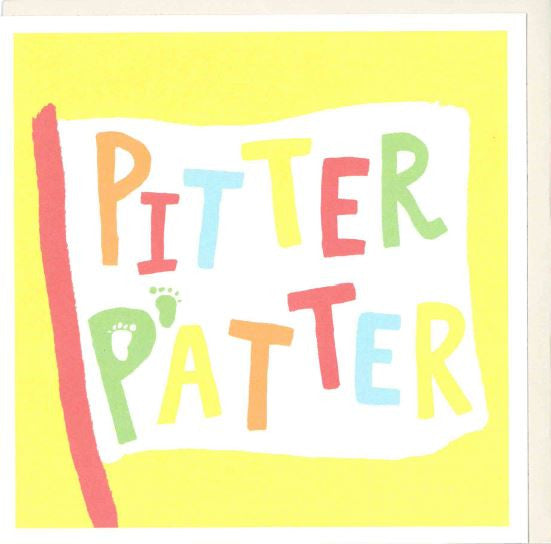 OCC101 Pitter Patter Card - My Messy Room