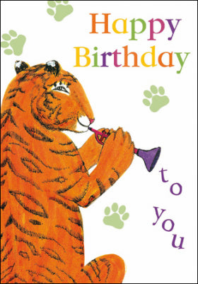 Woodmansterne 406645 The Tiger Who Came to Tea Birthday Card