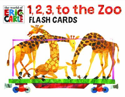 Eric Carle 1,2,3 To The Zoo Flash Cards