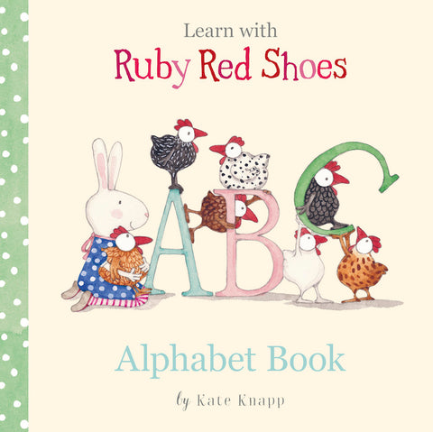 Learn With Ruby Red Shoes ABC Alphabet Book