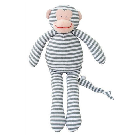 Alimrose Designs Musical Monkey - Grey Stripe - My Messy Room