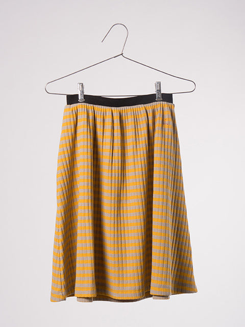 Bobo Choses Midi Skirt - Stripe Mustard - My Messy Room - 1