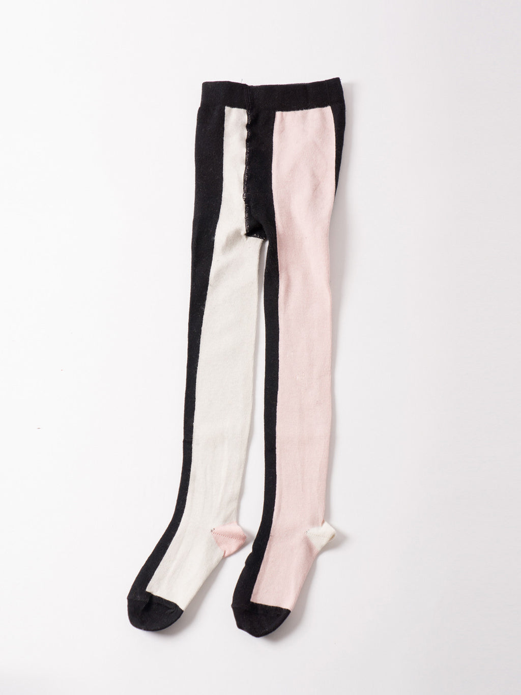 Bobo Choses Tights - Vertical Multicolour Pink - My Messy Room - 1