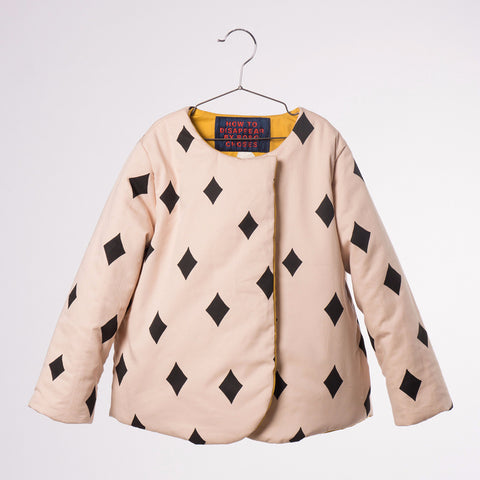 Bobo Choses Reversible Jacket - Diamond Sky - My Messy Room - 1