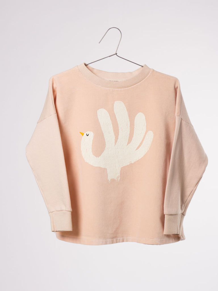 Bobo Choses Sweatshirt - Hand Trick (Velvet) - My Messy Room