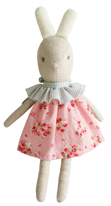 Alimrose Betsy Bunny Pink Floral 30cm