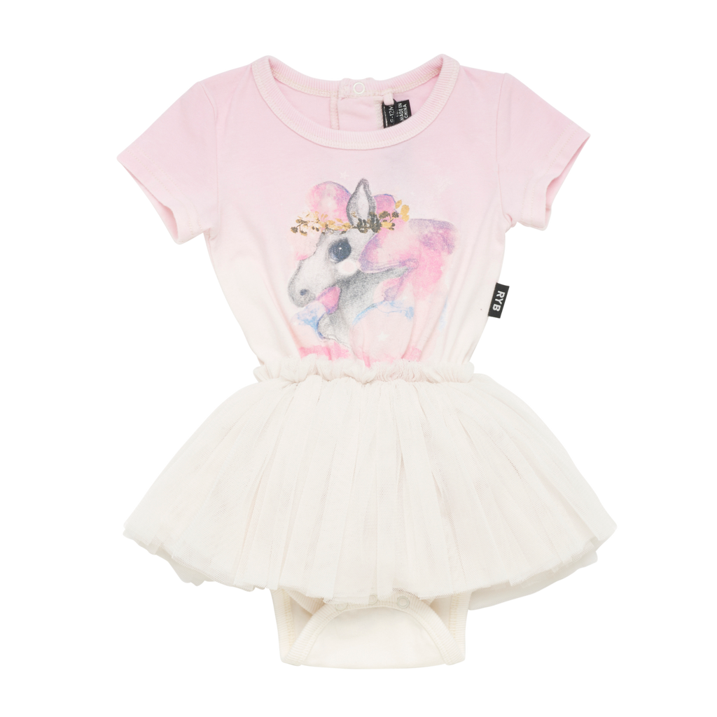 S18 Rock Your Baby Rainbow Brumby SS Circus Dress