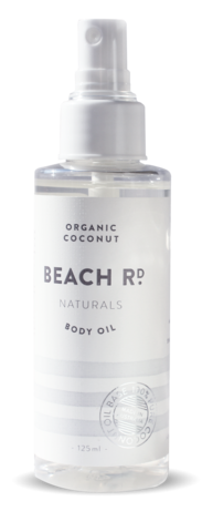 Beach Rd Naturals Organic Coconut Body Oil - 125ml