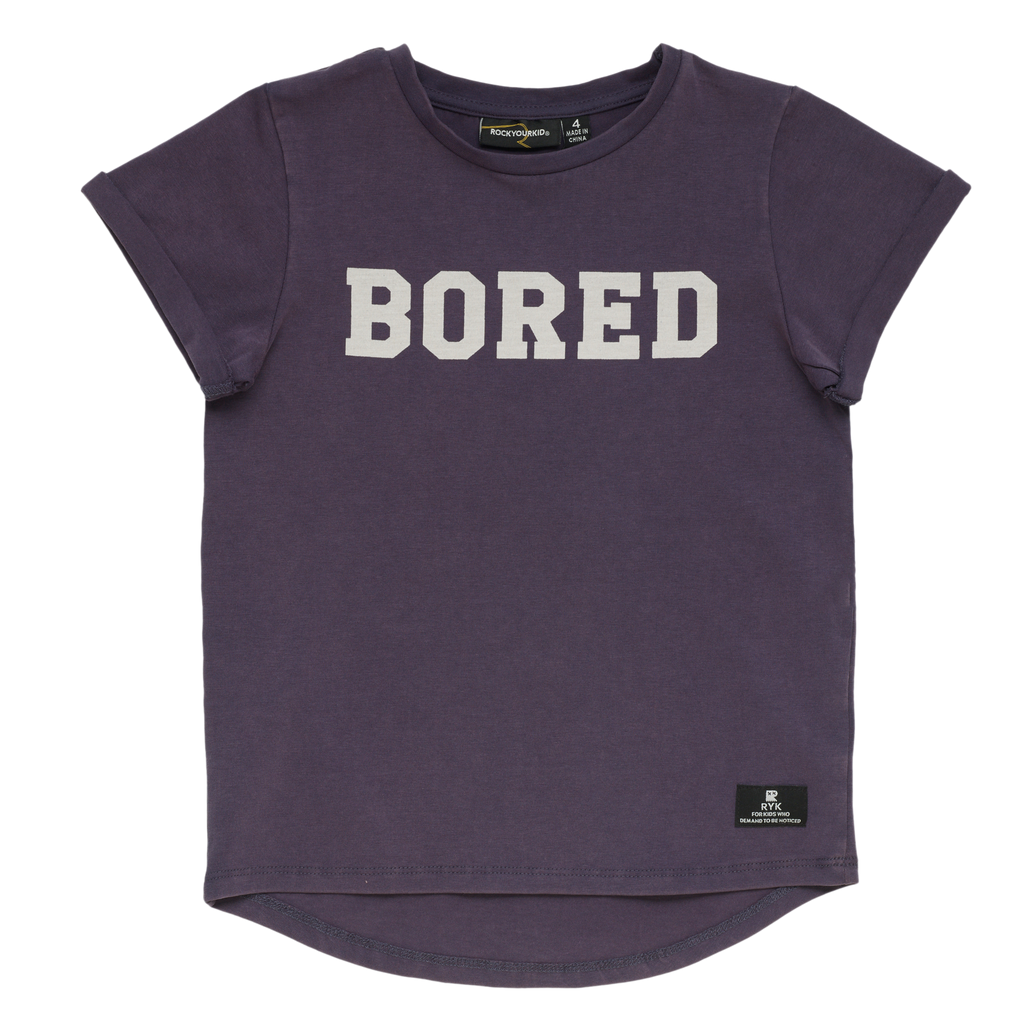 S18 Rock Your Kid Bored SS Tshirt