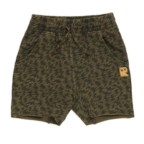 S18 Rock Your Kid Electric Short - Khaki Wash