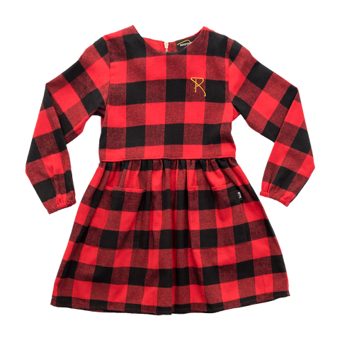 Rock Your Kid W17 Flannel Buffalo Dress