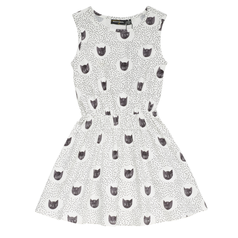 S18 Rock Your Kid Meow Or Never Sleeveless Dress